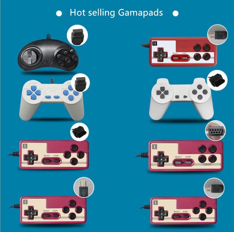 Игровой контроллер Powkiddy для игровой консоли, геймпад, ручные игровые геймпады для Sega FC, аксессуары для домашней игровой консоли