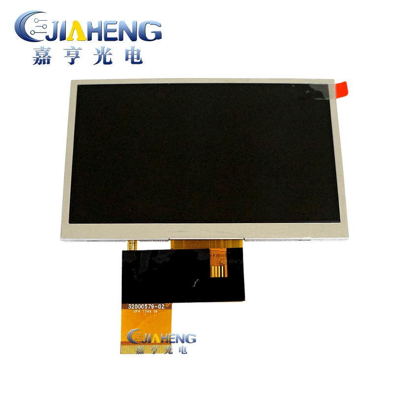 Innolux Original, 5 pulgadas, AT050TN33 AT050TN33, V.1 con pantalla táctil de 4 cables, 32000579-02 para GPS, MP4, 100% probado