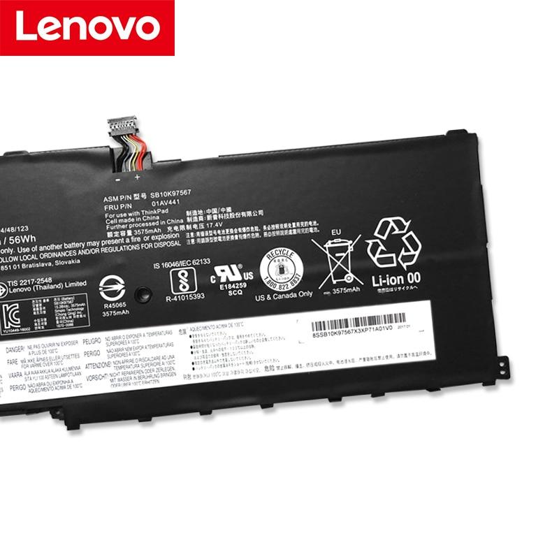 Lenovo NEW Original 00HW029 SB10F46467 For Lenovo ThinkPad X1 Carbon Gen 4 ( 2016 ) X1 Laptop Battery 01AV409 20FB-005XUS
