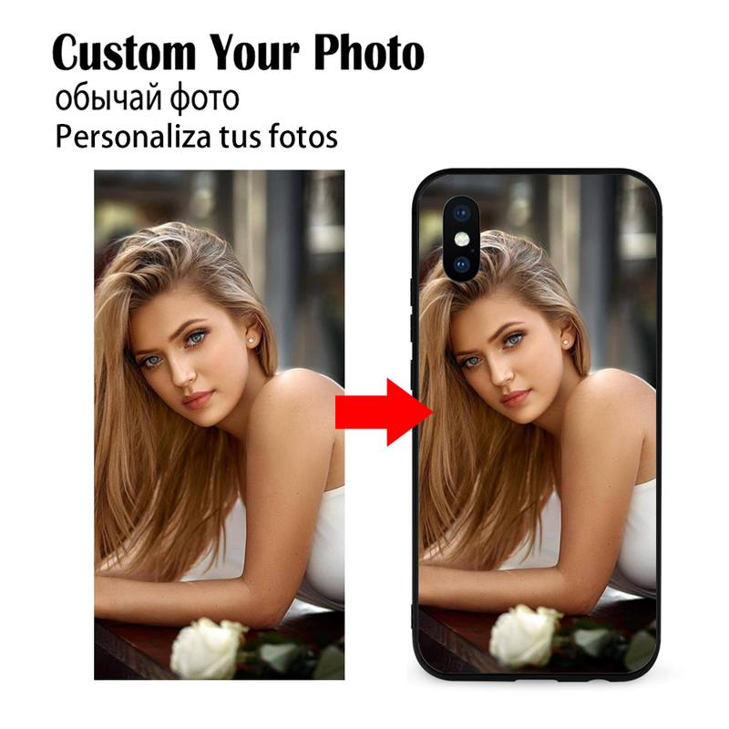 DIY Phone Case Soft Silicone TPU Customized Photo For Samsung Galaxy Note20 ultra 7 8 9 10 Plus lite