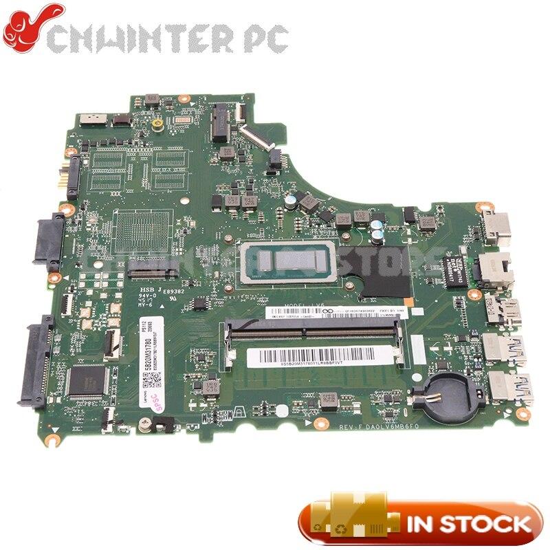 NOKOTION 5B20M31780 DA0LV6MB6F0 لينوفو E42-80 V310-14ISK اللوحة المحمول SR2JK i5-6267U وحدة المعالجة المركزية 4G RAM DDR4