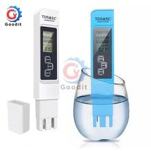 Tds Ec Meter Temperatuur Tester Pen 3 In 1 Functie Geleidbaarheid Water Kwaliteit Meting Tool Tds Ec Tester 0- 9990 Ppm 15%