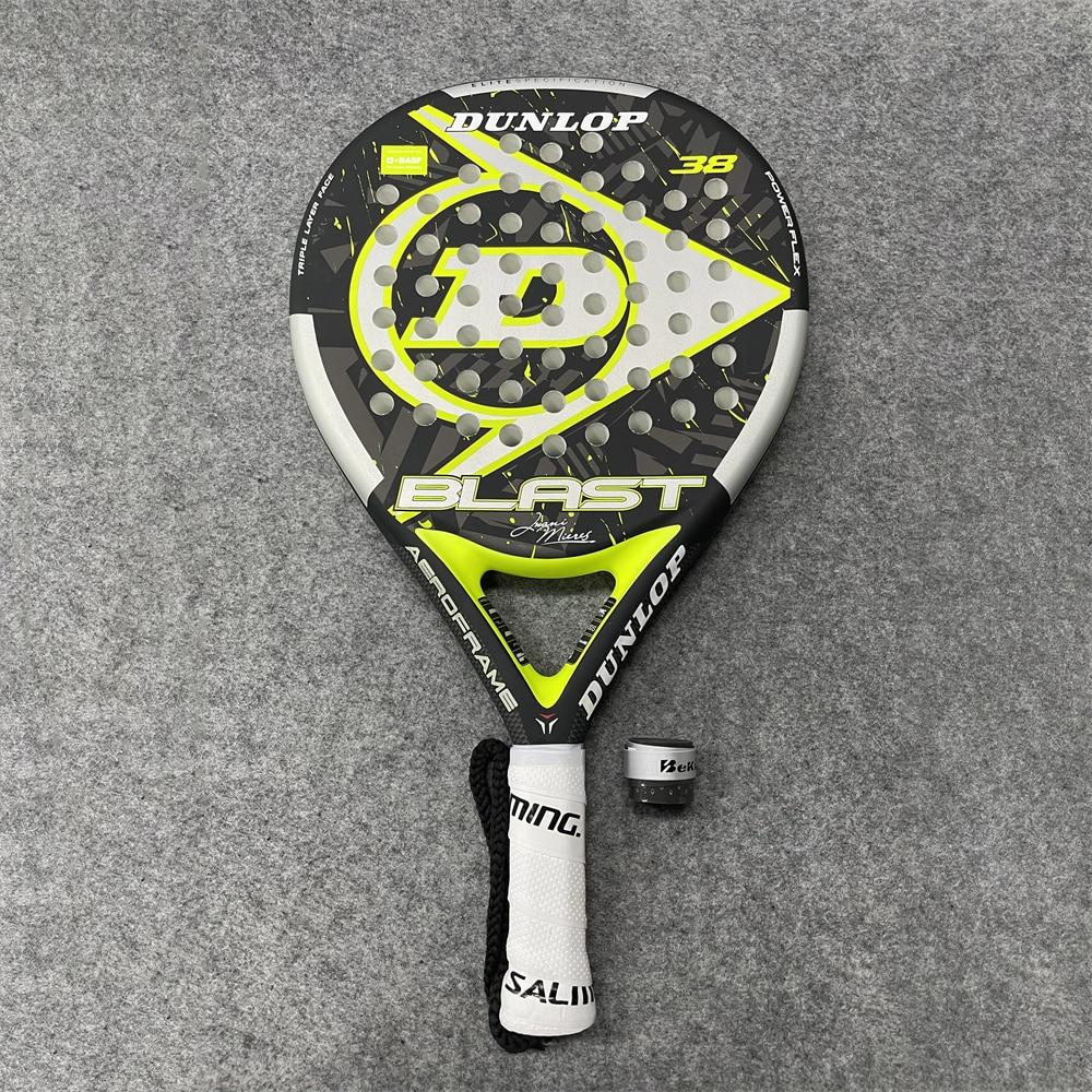 Beach Sport Paddle Racket Men Tennis Equipment Soft Eva Face Dunlop Racquet Board With Bag Fitness Ballgame Badminton Hand Glue