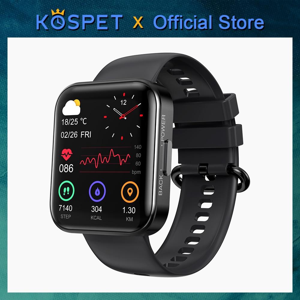 NEW 2021 KOSPET MAGIC 3 Smartwatch For Men Waterproof Bluetooth Band Sport Fitness Bracelet Smart Clock Women For IOS Android