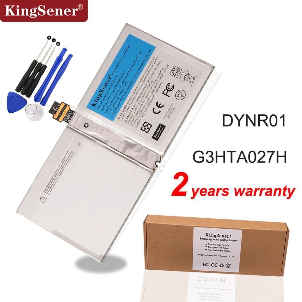 KingSener G3HTA027H DYNR01 بطارية كمبيوتر محمول لمايكروسوفت سطح الموالية 4 1724 12.3