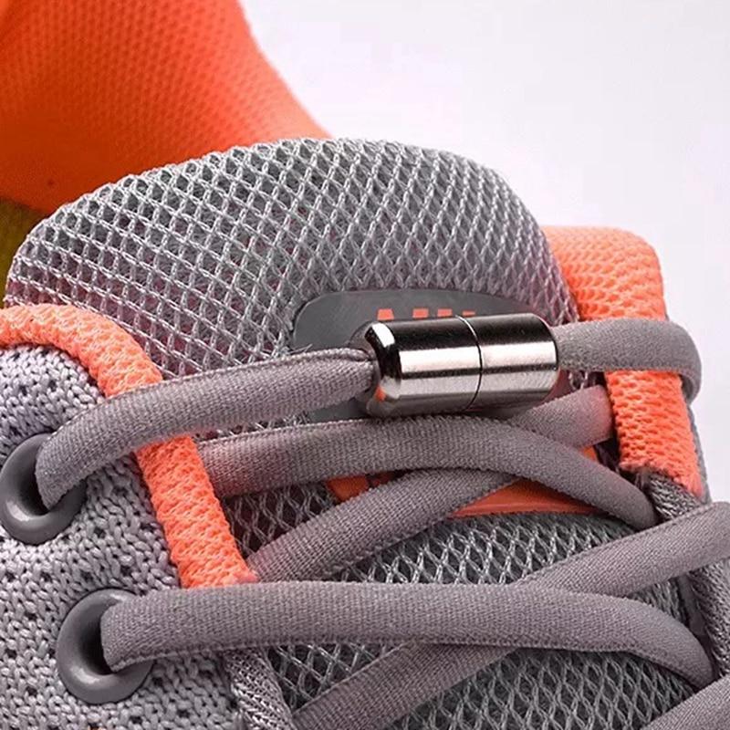 Полукруглые шнурки без завязок Эластичные шнурки для обуви Кроссовки шнурки с металлическим замком Ленивые шнурки для детей и взрослых Один размер подходит для любой обуви | Обувь | АлиЭкспресс