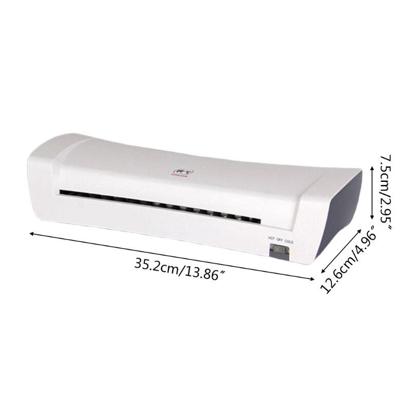 W3JD المهنية الحرارية مكتب آلة الساخن مصفح بارد لصورة وثيقة A4