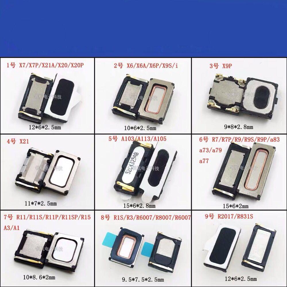 OPPO X7 X7plus X6AP X9P X21 R7 R9S A83 R11SP R3 R2017 altavoz del auricular interior de repuesto placa PCB cable Flex de origen