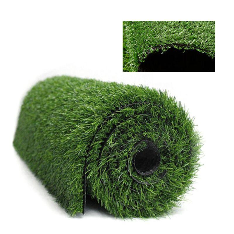 1.5cm kalınlığında yapay çim halı sahte çimenlik çimi Mat manzara Pad DIY zanaat açık bahçe zemin döşeme dekorasyon