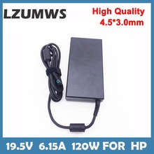 120W 19.5V 6.15A 4.5*3.0mm Laptop Adapter FOR HP ENVY 15 17 15-J013TX  J015T 15-AX033 HSTNN-CA25 Cha