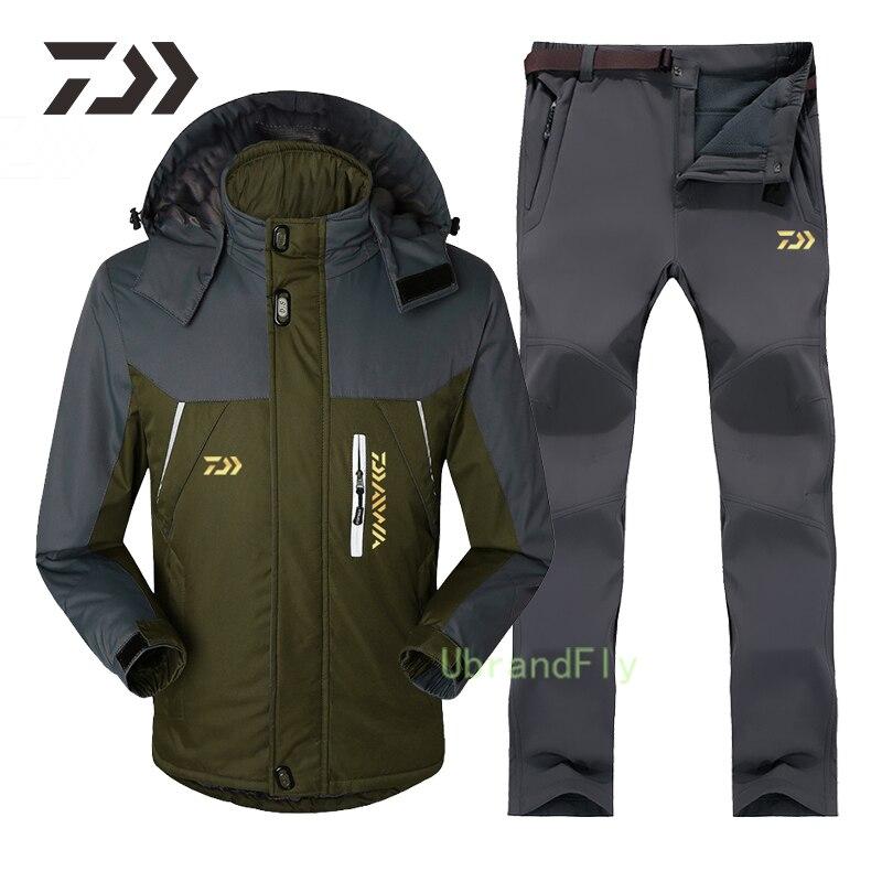 2021Winter Daiwa Fishing Clothes for Men Naturehike Keep Warm Waterproof Fishing Suit Windproof Shimanos Fishing Wear Breathable enlarge