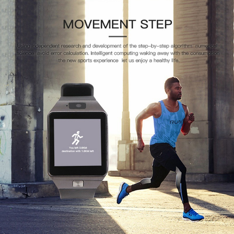 Outdoor Running Smart Watch Bluetooth Smartwatch Touchscreen Wearable For Android Phone Call...