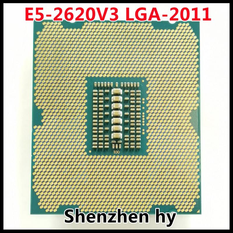 إنتل سيون E5-2620V3 E5 2620v3 E5 2620 v3 2.4 GHz ستة النواة اثني عشر موضوع معالج وحدة المعالجة المركزية 15 متر 85 واط LGA 2011-3