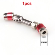 1Pcs 70-80mm CVD Universal Joint Transmission Shaft Metal Upgraded OP Parts Diameter 11mm Aperture 5