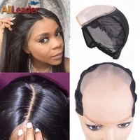 best monofilament wig cap most similar to scalp skin cap wigs l m s size mono wig cap for making wigs with adjustable strap 1pc
