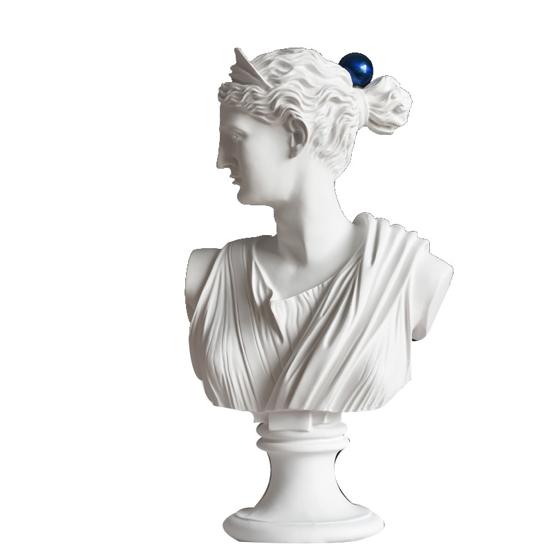 Estatua de la Diosa Venus de la mitología romana nórdica de 50cm escultura artística de resina artesanal estatua de decoración del hogar R2239