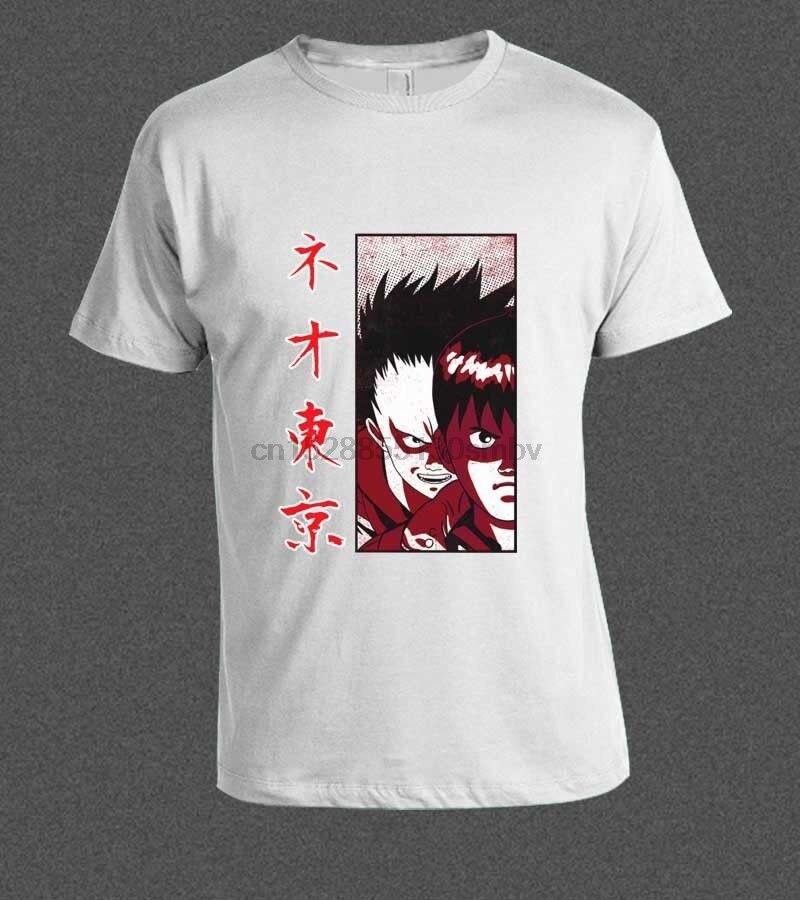 Camiseta con estampado de Anime japonés de Akira Shotaro Kaneda Neo Bike,...