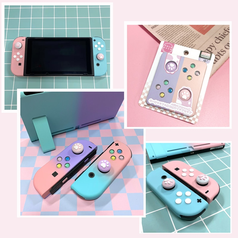 NS Switch JoyCon DIY Colorful ABXY Directions Keys Buttons for Nintend Switch NS NX Controller Joy-con Left Right Controller