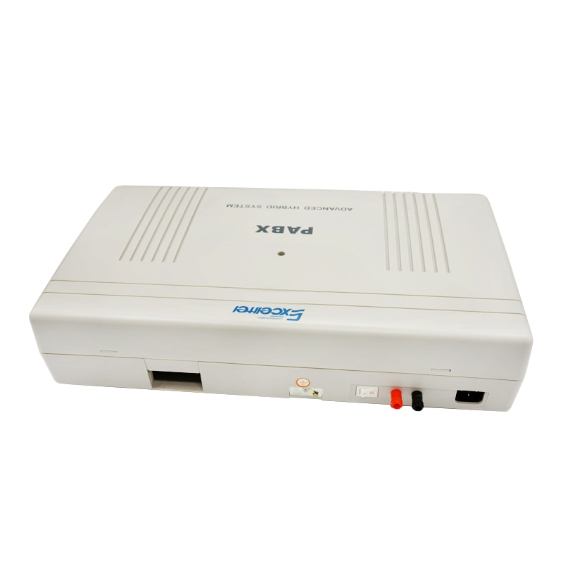 EXCELLTEL Hotel PBX CP1696-880 T llave teléfono PABX 8 CO línea 80 extensión fácil programación