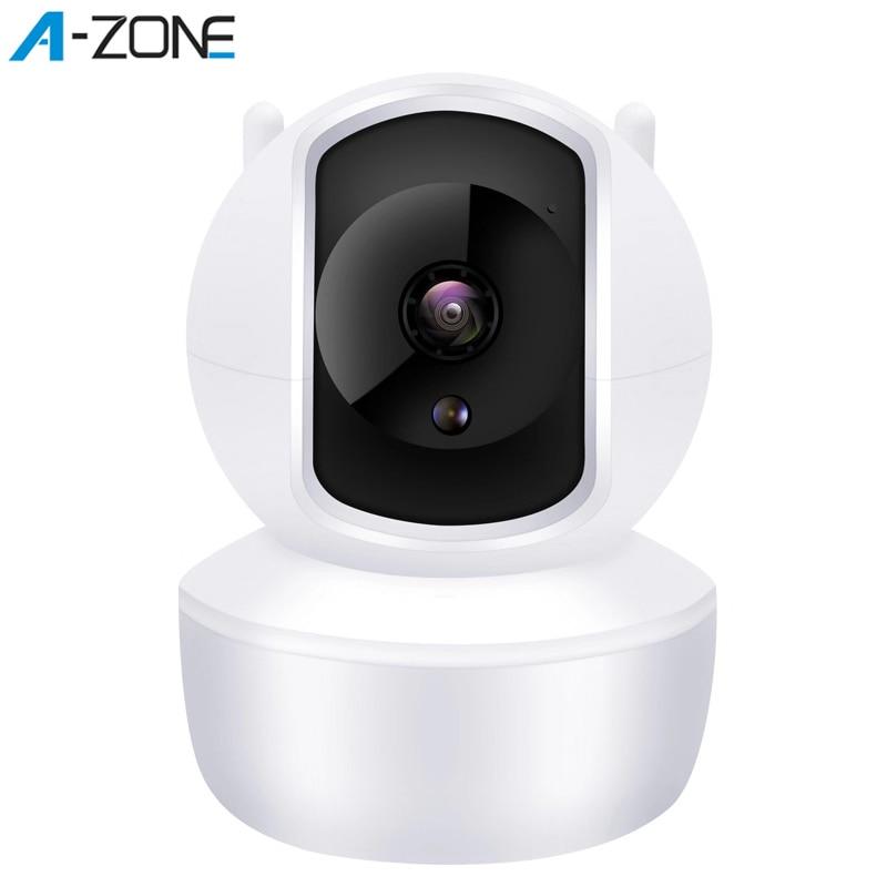 A-ZONE cámara IP 1080P HD hogar Wifi 360 Cámara movimiento visión nocturna infrarroja intercomunicador CCTV red IP cámara de seguridad