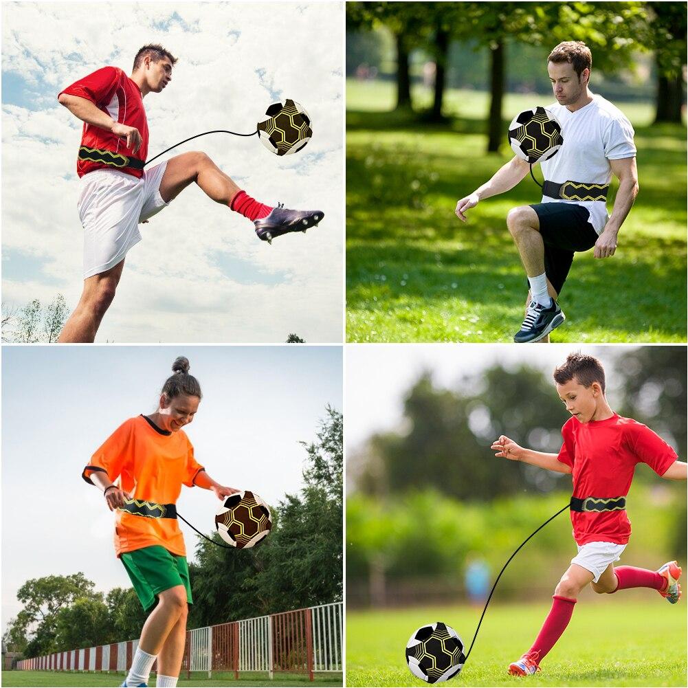Пояс для тренировок по футболу, оборудование для тренировок по футболу, вспомогательный тренировочный мяч, футбольный мяч, оборудование дл...
