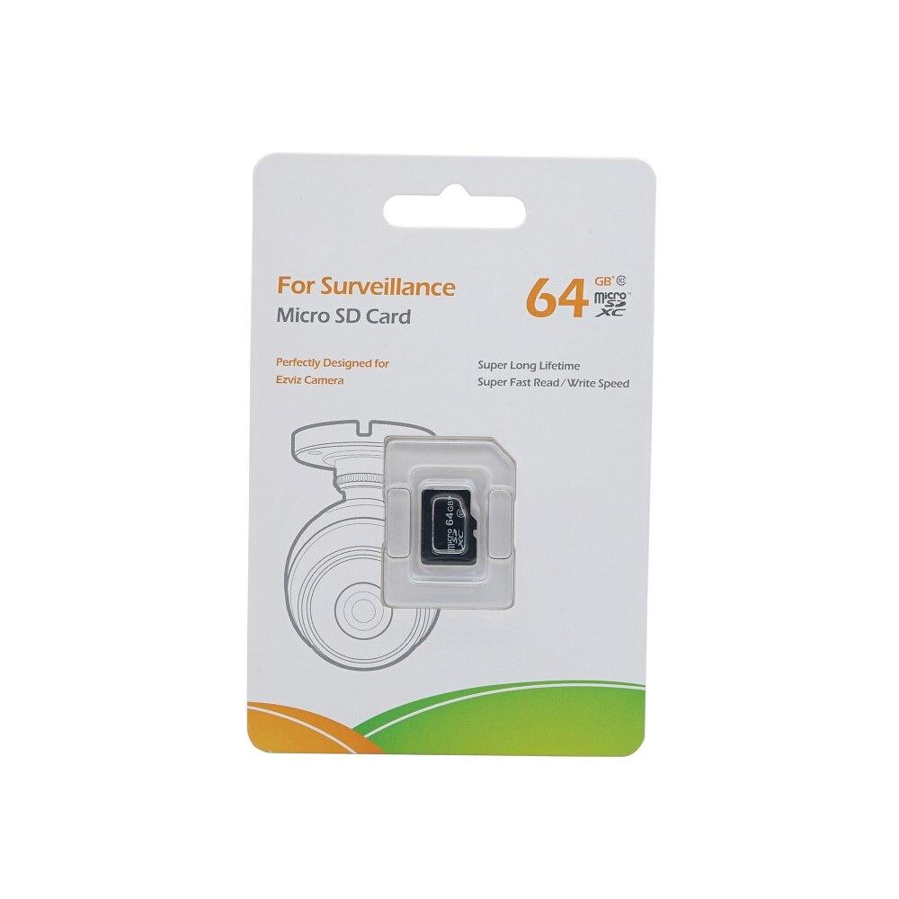 Original EZVIZ 64GB klasse 10 Micro SD Karte, TF karte Für Überwachung, perfekt Entwickelt für HIK EZ kamera