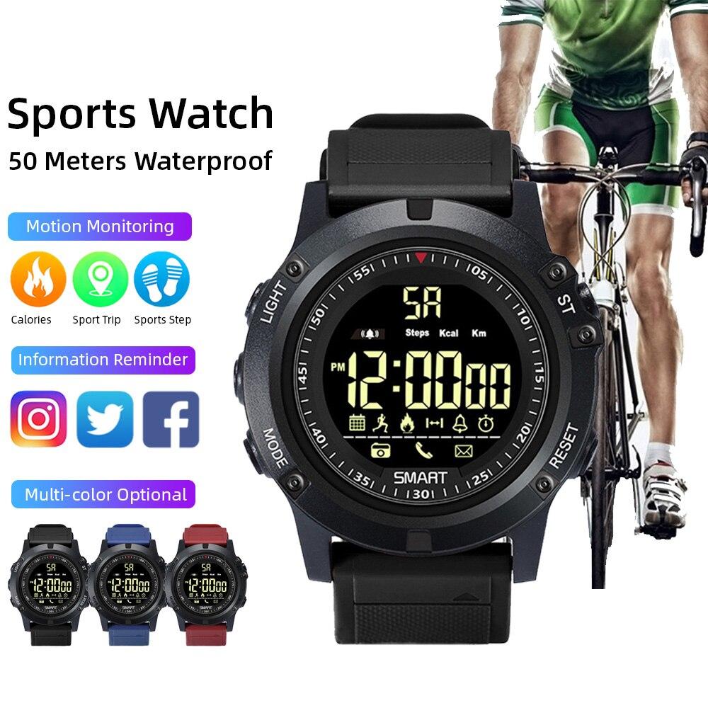 Bluetooth Sport Smartwatch 2020 Men Women Intelligent Call Reminder Bracelet Wrist Stop Watch Android Ios 50m Waterproof Calorie