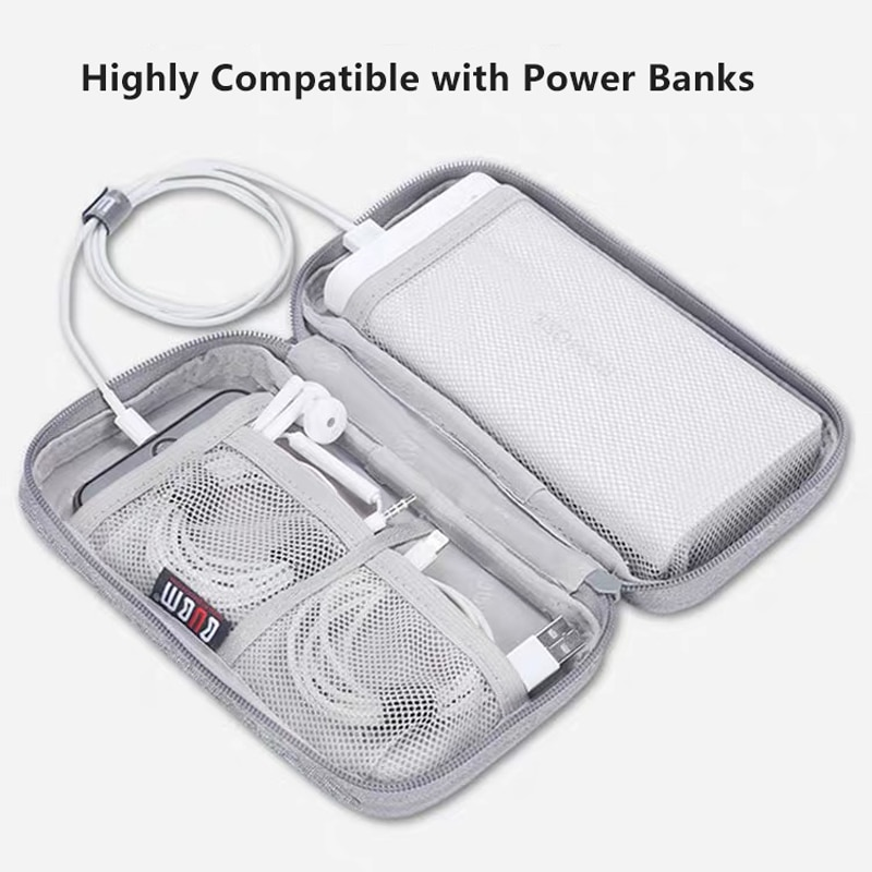 BUBM лучший продавец защитный чехол для внешнего аккумулятора, внешний жесткий диск, аккумулятор, сумка для хранения 20000 мАч Romoss зарядное устройство