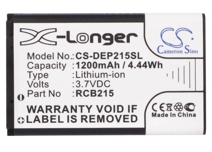 Cameron Sino batería de 1200mAh para Doro PhoneEasy 332GSM fácil 5 más fácil 5 + Doro PhoneEasy 332 Primo 215 Primo 405 RCB215 RCB405