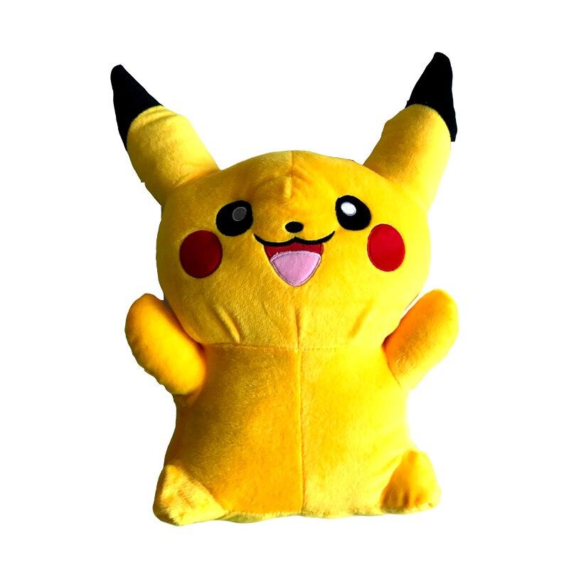 100cm Kawaii Anime Big Pikachu Plush Toy Giant Mega Go Soft Stuffed Animal Kids Doll Cute Fluffy Toys Birthday Gift for Children