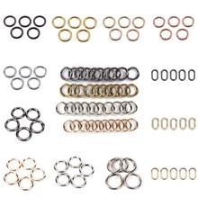 Metal Spring Gate O Ring Openable Keyring Leather Bag Belt Strap Buckle Dog Chain Snap Clasp Clip Tr