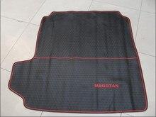 Tapis de coffre de voiture   Spécialité de lenvironnement, tapis en Latex et caoutchouc, étui pour VW Sagitar Magotan LaVida CC