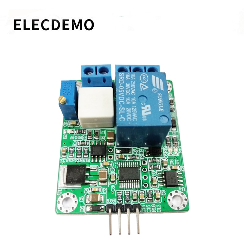 WCS2702 high precision AC and DC current detection sensor module 2A current limiting protection relay serial port geya gri8 01 current monitoring relay current range 8a 16a ac24v 240v dc24v overcurrent protection relay