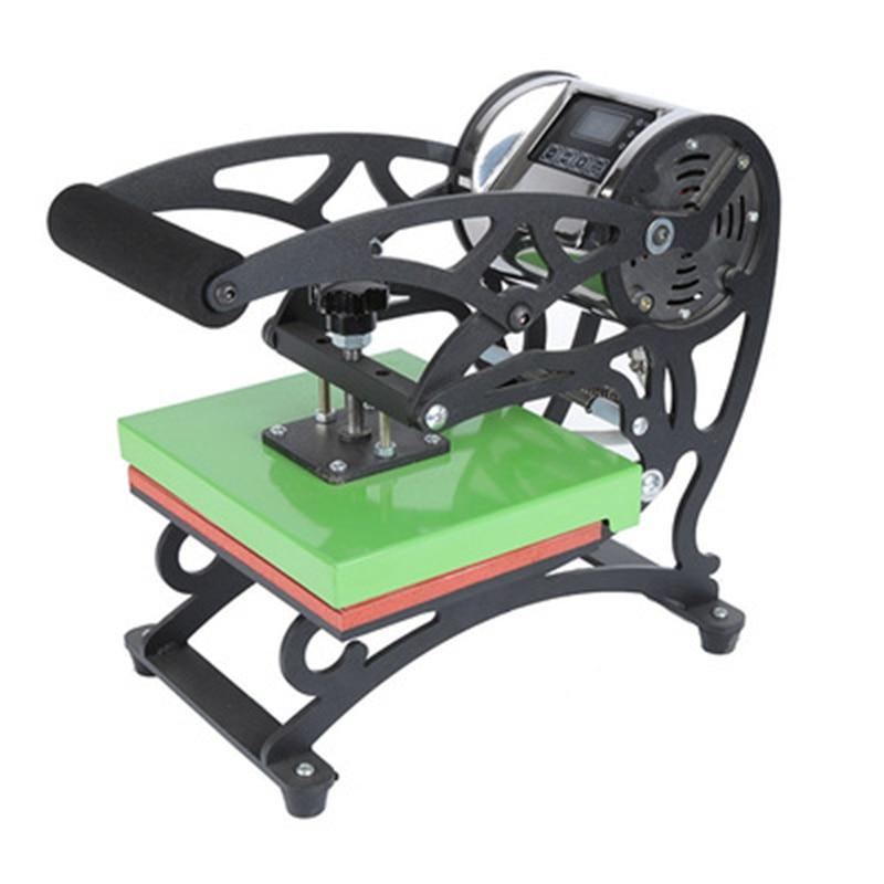 شحن مجاني صغيرة مسطحة ارتفاع ضغط الحرارة الصحافة نقل ملصق الطباعة تي شيرت آلة 15*20 سنتيمتر