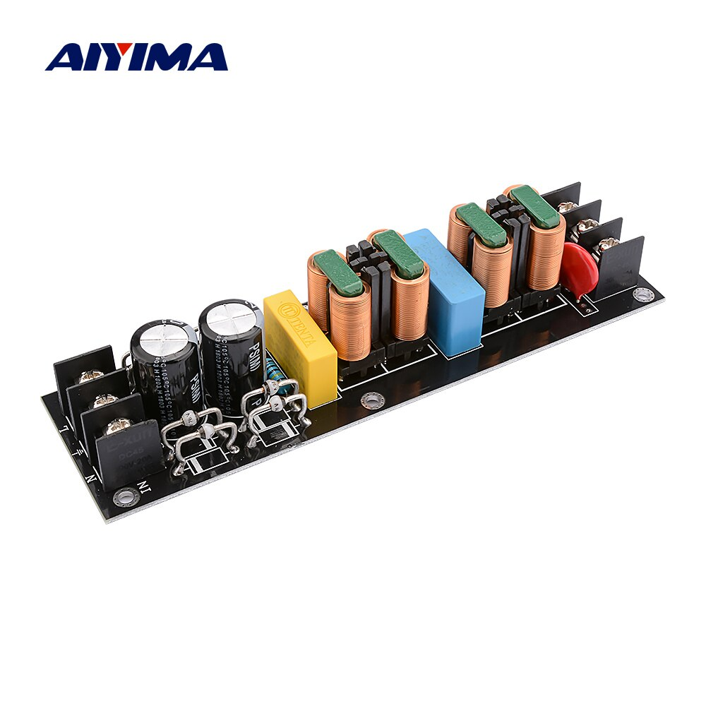 AIYIMA 2000W 15A EMI Power Filter Modul AC110V-265V Hohe Effizienz DC Netzteil Filter DIY Audio Sound Home Verstärker