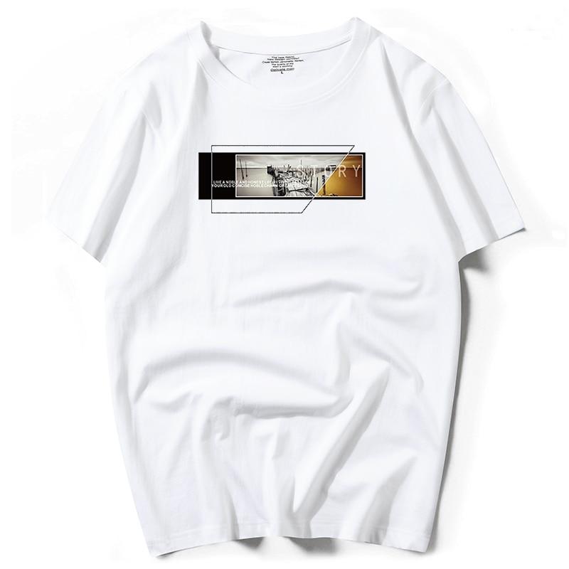 Camiseta estampada 2020, camiseta de manga corta de algodón para hombre, camiseta de baloncesto fresca, camiseta informal holgada de verano para hombre, camiseta para hombre