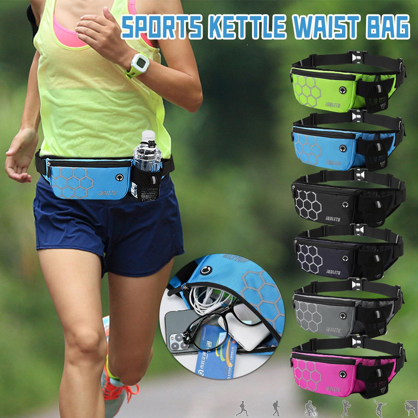 Riñonera deportiva multifuncional para exteriores, bolso de bolsillo para teléfono móvil, Fitness