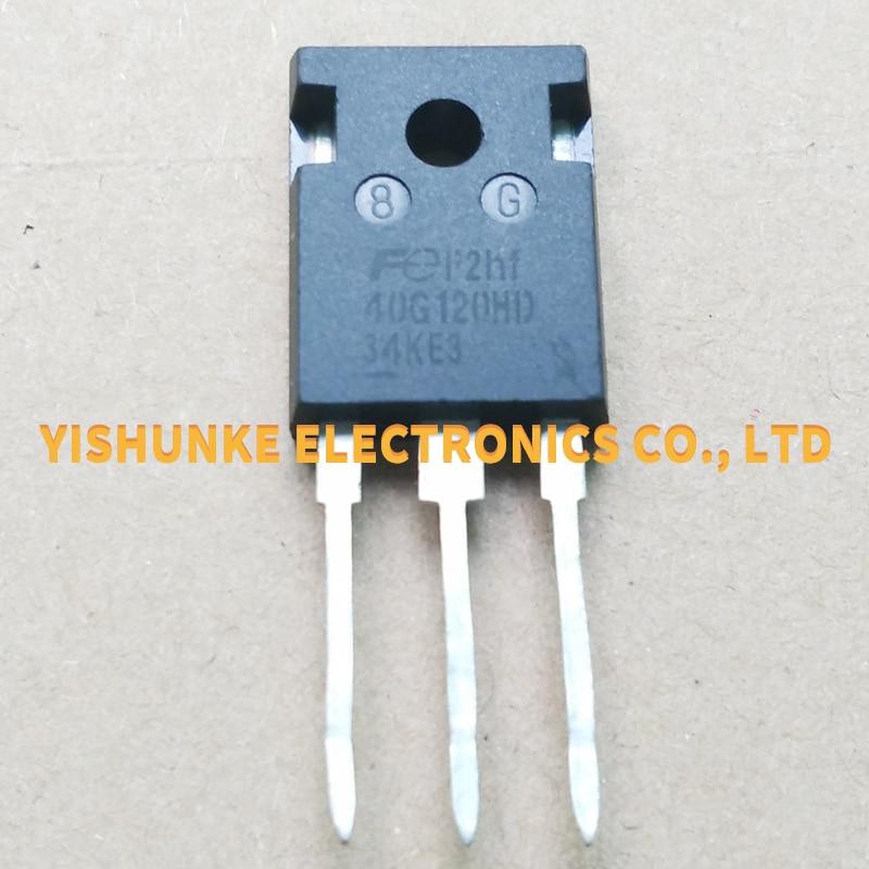 10 Uds 40G120HD FGW40N120HD-247 IGBT TRANSISTOR 40A 1200V
