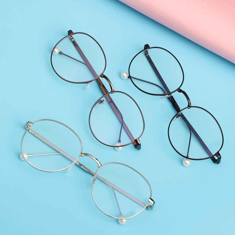 1 Pc nouveau mode unisexe Anti rayons bleus lunettes ultraléger cadre métallique ordinateur jeu lunettes rayonnement lunettes de Protection