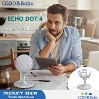 Support universel de bureau a Rotation de 360    pour haut-parleur intelligent  support de berceau  Echo Dot 4th pour HomePod Mini