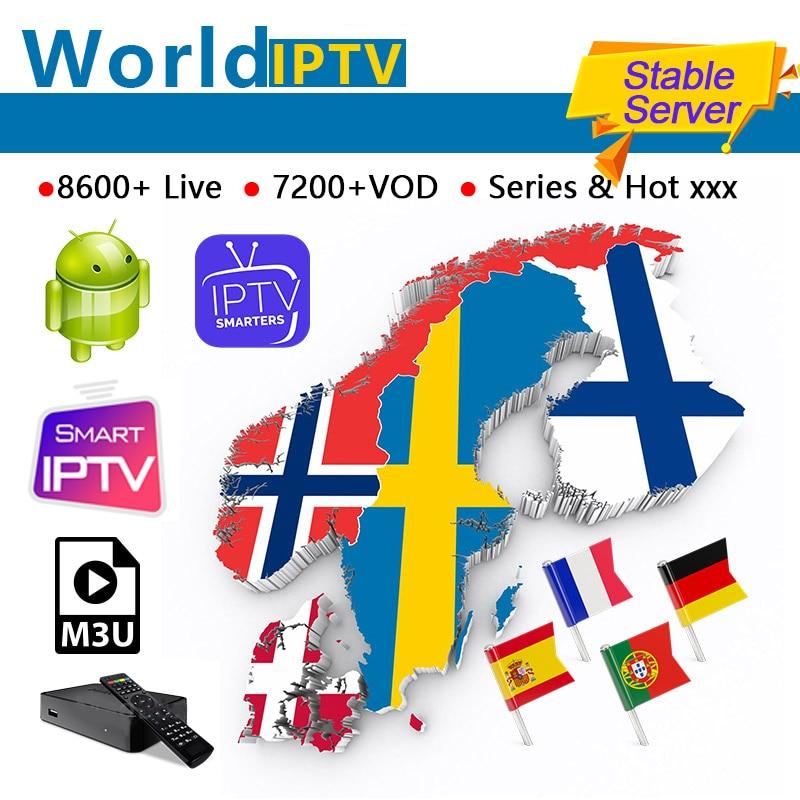 Monde IPTV stable IPTV suède Dplay pays-bas espagne norvège israël arabe royaume-uni M3u Enigma2 STB