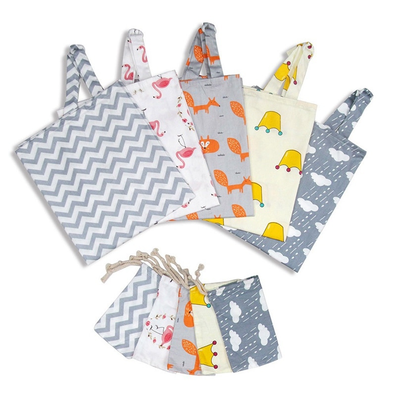 Baby Infant Breastfeeding Cover Breathable Cotton Muslin Nursing Cloth Big Nursing Feeding Cover Cape Apron