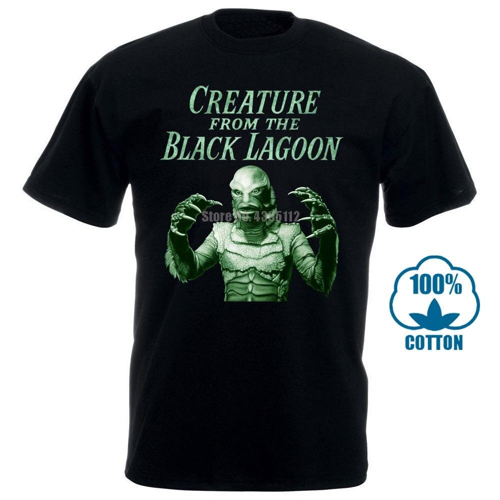 Creature de la película Black Lagoon Poster camisetas gráficas del hombre camisa Loki camisas militares camisetas personalizadas Uplbie
