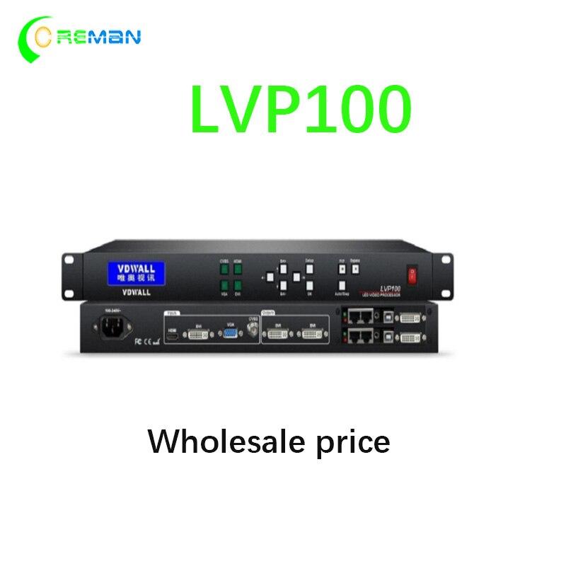 Besten preis Voll farbe LED-Display video Prozessor LVP100 video wand system controller hdmi dvi eingang ausgang LVP615S