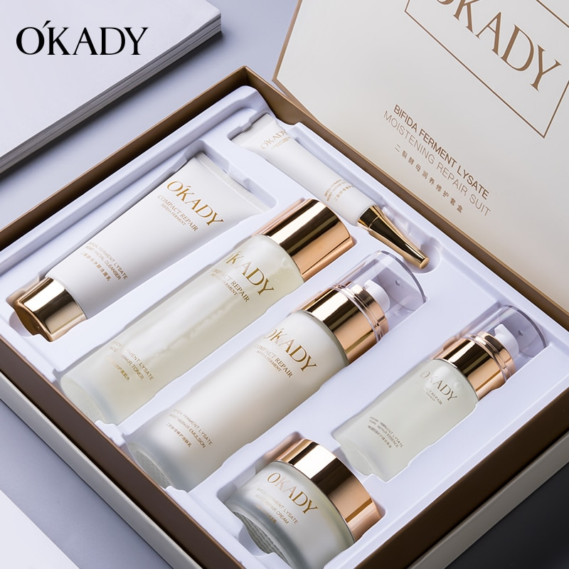 2021 OKADY skin care products gift box for moisturizing beauty salon