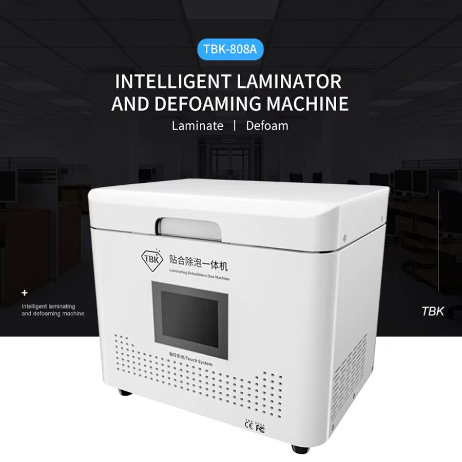 Promo TBK-808A 2021 New Arrive 13inch Laminating And Bubble Removing Machine Fit / Defoaming 800W For Iphone ipad Touch Screen Repair