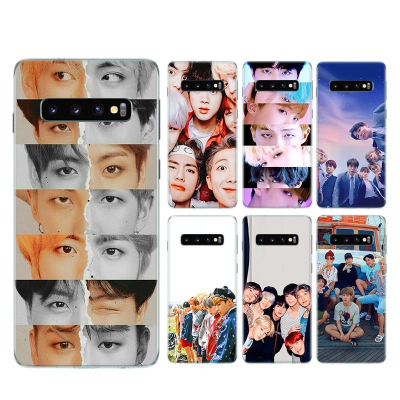 Kpop Dynamite Boys Silicone Case For Samsung Galaxy S20+ S20 S10 S9 S8 Plus S10E S6 S7 Edge Note 8 9