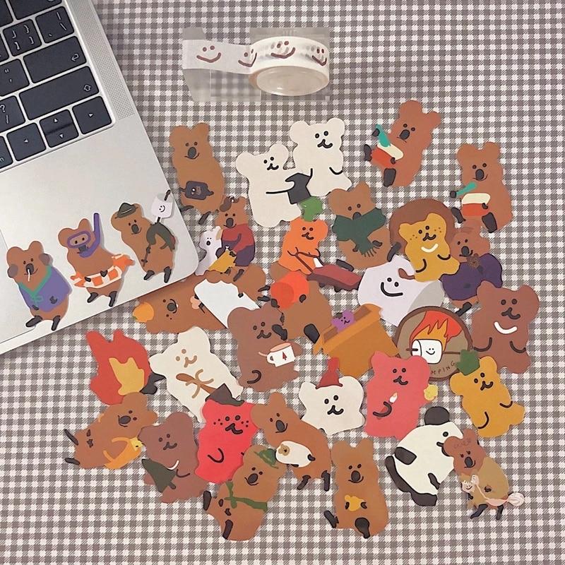 cartone-animato-coreano-orso-koala-conto-mano-adesivo-impermeabile-cassa-del-telefono-del-computer-materiale-decorativo-adesivo-di-cancelleria-per-bambini