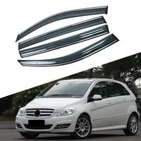 for mercedes benz b class 2005 2011 w245 car window sun rain shade visors shield shelter protector cover trim frame sticker