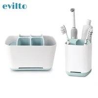 Boite de rangement multifonction pour salle de bain  brosse de maquillage  rasoir  brosse a dents electrique  dentifrice